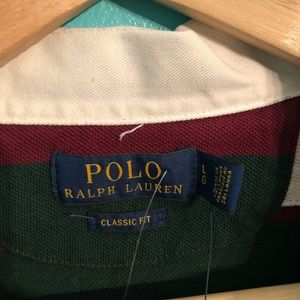 Polo by Ralph Lauren Shirts - Polo Ralph Lauren Rugby striped Polo Shirt size L